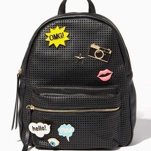 Charming Charlie Pin Backpack